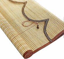 Gardinen Bambusvorhang-Rollos, die den