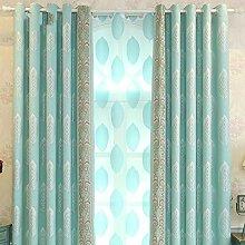 Gardinen,Einfache und moderne Blatt Vorhang