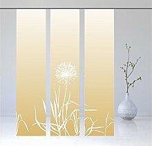 gardinen-for-life Flächenvorhang Allium Gold 3er