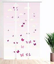 gardinen-for-life Flächenvorhang Kids Papillions