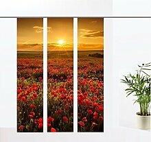 gardinen-for-life Flächenvorhang Komplett Set mit