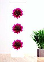 gardinen-for-life Flächenvorhang Pink Fleur