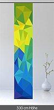 gardinen-for-life Schiebevorhang 300 cm Kristall