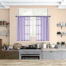 Gardinen für die Küche, transparent, 91,4 cm