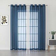 Gardinen für große Fenster, sehr lang, 274,3 cm,