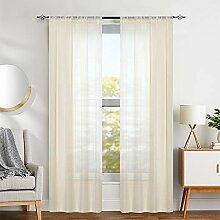 Gardinen für Schlafzimmer, 244,6 cm Länge,