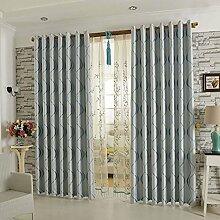 Gardinen für Wohnzimmer, Modern Einfachheit