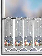Gardinen Outlet Lamellen-Panneaux Weihnachten