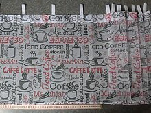 Gardinen Röttger Scheibengardinenstoff CAFFEE