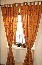Gardinen-Set Mahalakshmi mit Schlaufen Bloomsbury