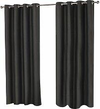 Gardinen-Set Rymer mit Ösen, halbtransparent 17
