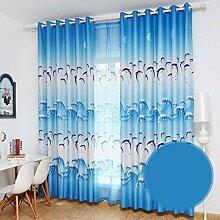 Gardinen Vorhang Kinderzimmer hohe Schattierung