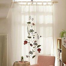 Gardinen,Wohnzimmer studieren Zimmer Balkon
