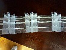 Gardinenband,Faltenband 2,5:1, 60 mm,transparent,1
