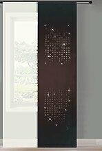 Gardinenbox 2er Set Schiebegardine Flächenvorhang