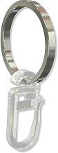 Gardinenringe / Edelstahl Ringe V2A für 16 mm