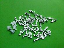 Gardinenröllchen Steckgleiter 8mm 50 Stück 4