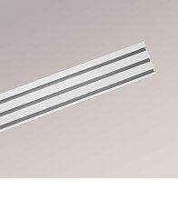 Gardinenschiene aus Aluminium - in silber - 3