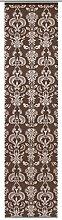 GARDINIA Flächenvorhang (1 Stück), Schiebegardine, Blickdicht, Flächenvorhang Stoff Dekor, Ornament-Muster, Braun, 60 x 245 cm (BxH)