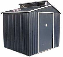 Gardiun - Gartenhaus, Metall, Chester 4, 25m² Ex