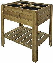 Gardiun KSU13010 Frühbeet aus behandeltem Holz,