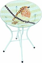 Gardman A04376 Vogelbad mit rotkelchen-Mosaik