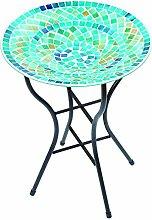 Gardman A04377 Vogelbad mit blauem Mosaik