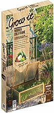 Gardman Garden Mini Gewächshaus mit Holzrahmen