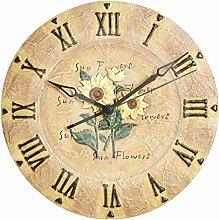 Gardman Sonnenblumenuhr, beige, 30x4x30 cm, 17230