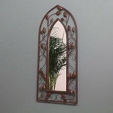 Gardman Wanddeko Spiegel mit gotischem Bogen