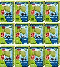 GARDOPIA Sparpaket: 12 x 125 ml Bayer Garten Blattanex Ameisenfrei zum Gießen + Gardopia Zeckenzange mit Lupe