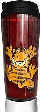 Garfield Cartoon Cat Glas Kaffeebecher Travel Mug