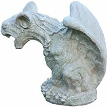 Gargoyle, Skulptur aus Steinguss, Figur