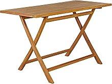 Garland Gartentisch Bari 125x60x75 cm Teak Holz