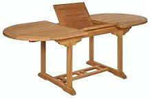 Garland Gartentisch Bari 150-200cm Teak Holz