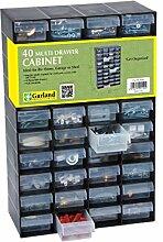 Garland Kunststoffschrank mit mehreren Schubladen