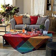 Garnier-Thiebaut 36195 Carrousel Noel Tablecloth