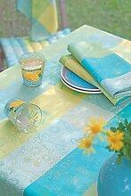 Garnier Thiebaut Mille Alcees Narcisse Tischdecke 175 rund abwaschbar