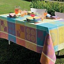 Garnier Thiebaut Mille Batik Vibrant Tischdecke