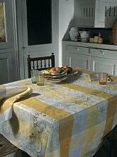 Garnier Thiebaut Mille Couleurs Lumiere Tischdecke 175/300 abwaschbar