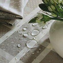 Garnier Thiebaut Mille ladies argile Tischdecke 175/300 abwaschbar