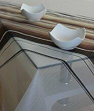 Garotex Tischdecke Mitteldecke Tafeltuch Tischtuch 100 x 100 cm Weiß-Braun Streifen