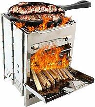 Garretlin BBQ Grill Holzkohleofen tragbar