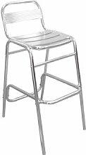 Garten-Bar-Stuhl (aus Aluminium, robust) 4 Stück