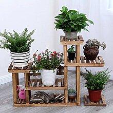 Garten-Blumen-Pflanzen Stehen Werkzeug Olid Holz