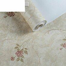 Garten Blumentapete/Schlafzimmer Wohnzimmer TV Wand Hintergrundpapier/Vliestapete/3dWarm Su Blume Tapete #-A