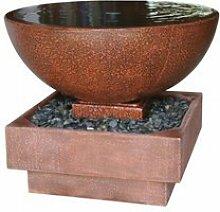 Garten Brunnen Schale »Testoro« aus Fiberglasbeton