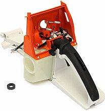 Garten Chanisaw Maschine Gas Tank KraftstoffrŸckgriff-Armatur fŸr Stihl MS660 066 MS650 064