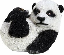 Garten Deko Figur Panda Bär aus Polyresin