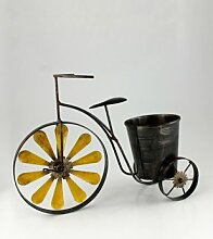 Garten Deko Metall Fahrrad Dreirad Rad Nostalgie